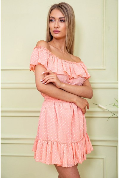 Платье 167R900 цвет Персиковый 59217