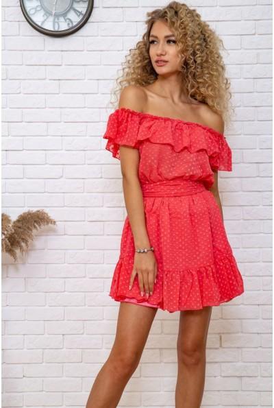 Платье 167R900 цвет Коралловый 59213