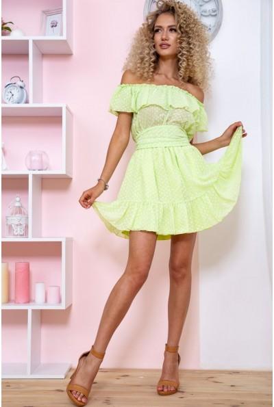 Платье 167R900 цвет Салатовый 59219