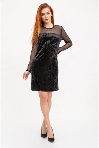 Облегающее вечернее платье черного цвета 115R078 12275