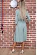 Платье  цвет оливковый 102R216 скидка