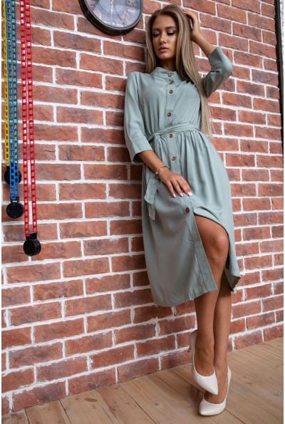Платье  цвет оливковый 102R216 66421