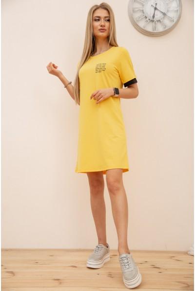 Платье в спортивном стиле цвет Желтый 119R405 56566