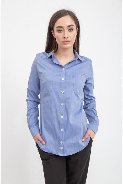 Рубашка женская 115R341F цвет Джинс