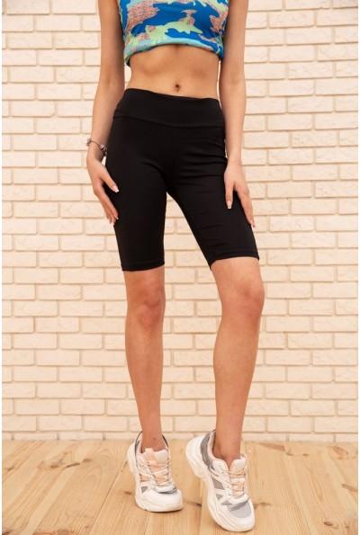 Велотреки женские 172R30712-1 цвет Черный 56111