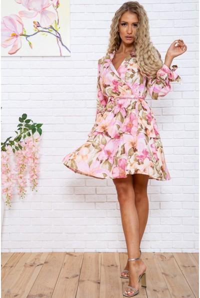 Платье женское 119R44 цвет Розовый 28555