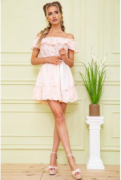 Платье 167R900-2 цвет Светло-персиковый 59256