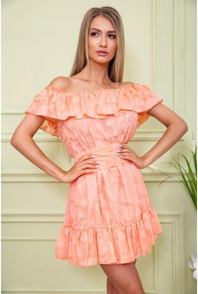 Платье 167R900-2 цвет Персиковый 59252