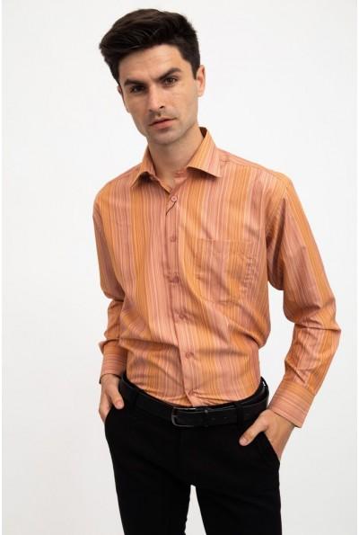 Рубашка классическая теракотовая 9005-1