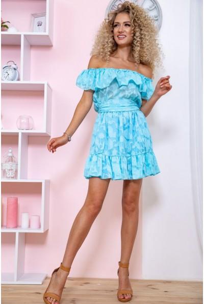 Платье 167R900-2 цвет Голубой 59244