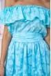 Платье 167R900-2 цвет Голубой скидка
