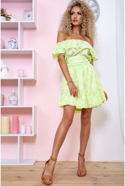 Платье 167R900-2 цвет Салатовый 59254