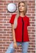 Купить Футболка женская  цвет красный 102R217 66433