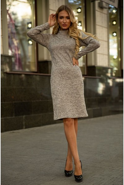 Платье 153R1082 цвет Светло-серый