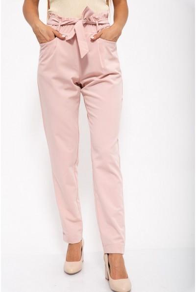Брюки женские 115R350-1 цвет Светло-розовый