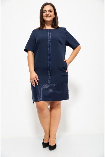 Платье 150R619 цвет Темно-синий 37473