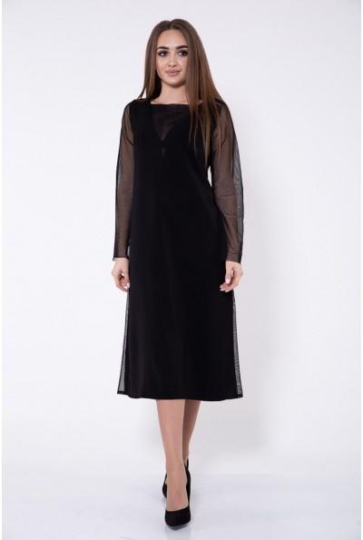 Платье женское 115R356B цвет Черный