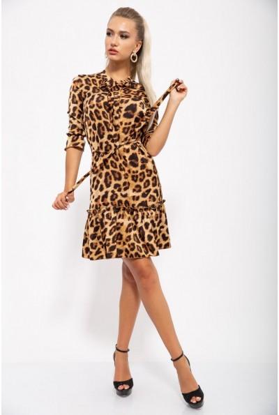 Платье женское 112R485-2 цвет Леопардовый