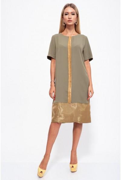 Платье 150R619 цвет Хаки