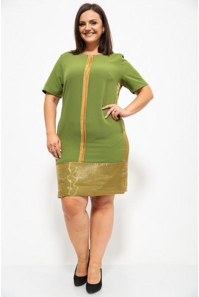 Платье 150R619 цвет Зеленый