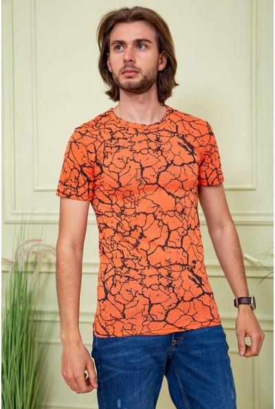 Футболка мужская 116R101 цвет Оранжевый 59470