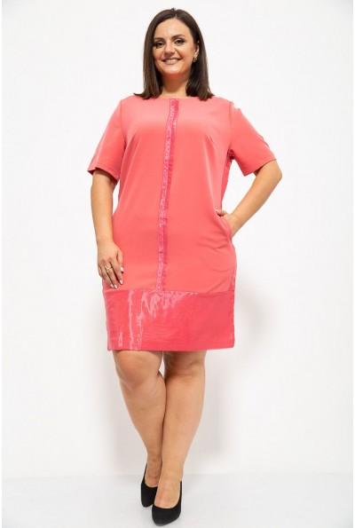 Платье 150R619 цвет Розовый