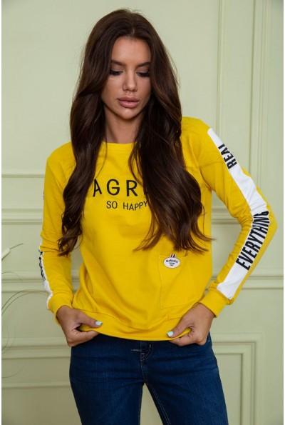 Батник женский  цвет темно-желтый 180R571 64127