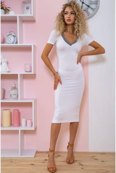 Платье  цвет белый 167R225 60483