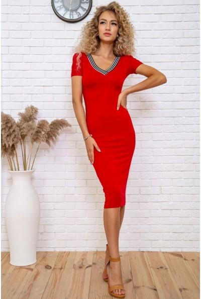 Платье  цвет красный 167R225 60489