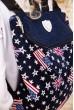 Синий рюкзак с флагом Америки и Великобритании 154R003-38-1 стоимость