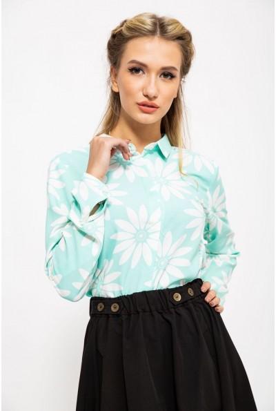 Блуза 115R119-12 цвет Мятный