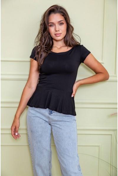 Блуза  цвет чёрный 167R224 60441