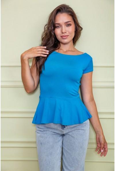 Блуза  цвет голубой 167R224 60425