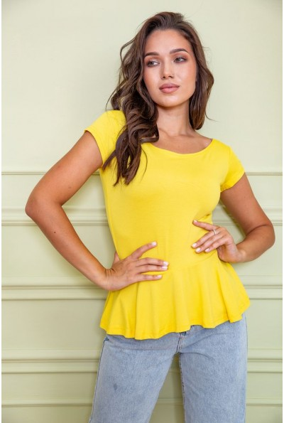 Блуза 167R224 цвет Желтый 60427