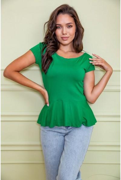 Блуза 167R224 цвет Зеленый 60429