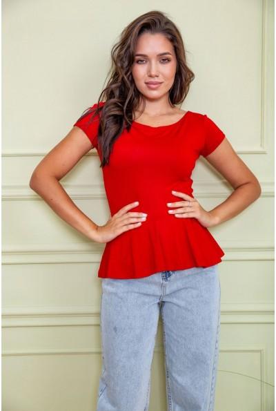 Блуза 167R224 цвет Красный 60433
