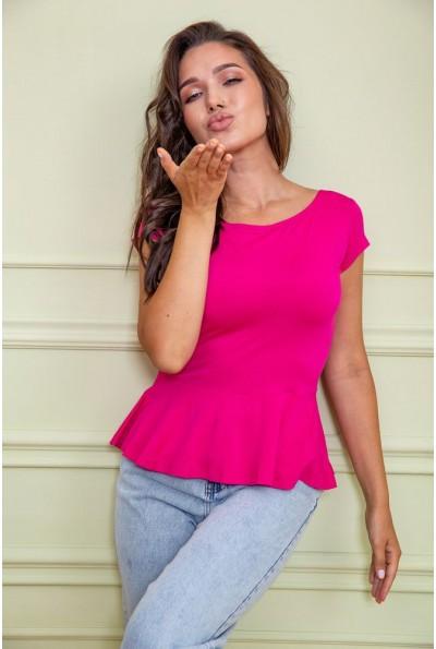 Блуза  цвет малиновый 167R224 60435
