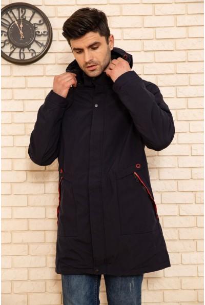 Куртка мужская с капюшоном демисезонная цвет Синий 129R8806