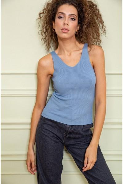 Майка женская  цвет джинс 131R101-1 34796