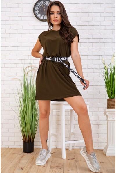 Платье 119R406 цвет Хаки