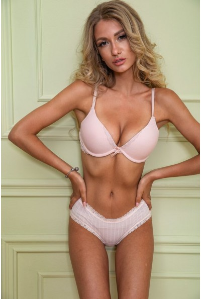 Комплект женского белья 131R7439 цвет Пудровый