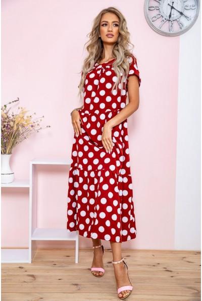 Платье  цвет терракотовый 150R659 65113