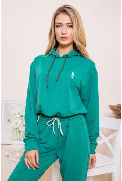 Батник зеленого цвета для женщин 103R171