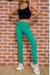 Купить Женские леггинсы с высокой талией цвет Зеленый 172R249 55419