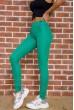 Женские леггинсы с высокой талией цвет Зеленый 172R249 стоимость