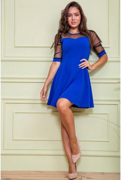 Платье нарядное  172R40-1 цвет Синий 61629