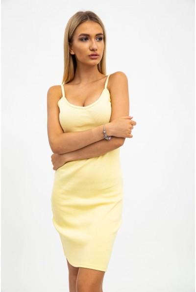Платье женское 112R507 цвет Желтый