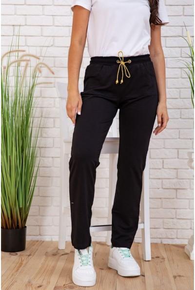 Женские спортивные штаны черные 167R135 57723