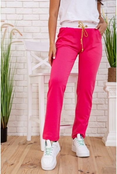 Женские спортивные штаны розовые 167R135 58109