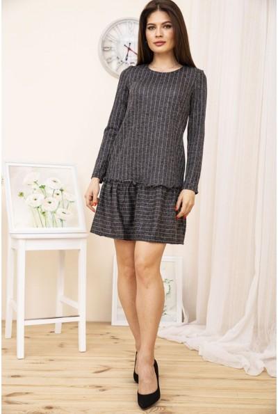 Платье 104R0012 цвет Серый